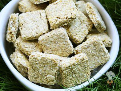 (wheat and dairy-free, vegan, vegetarian) maple cinnamon squash dog treat/biscuit recipe