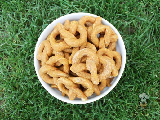 sweet potato goat cheese pretzels