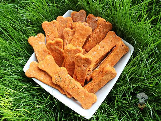 (gluten and wheat-free) mozzarella tomato turkey dog treat/biscuit recipe